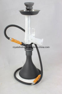 New Design Resin Stem Pistol Gun Shisha Hookah pictures & photos