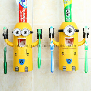 2016 New Automatic Toothpaste Dispenser Toothbrush Holder pictures & photos