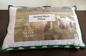 Luxury Item Chinese Wool Quilted Pillow for Bedding pictures & photos