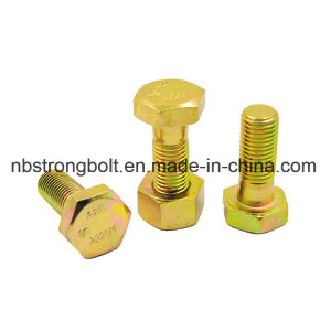 ASTM A325 Heavy Hex Bolt with Black Oxid pictures & photos