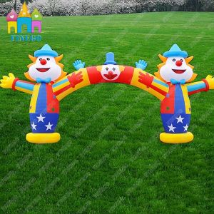 Finego Advertisement Decoration Inflatable Archway Inflatable Tunnel Inflatable Funny Clown Arch pictures & photos