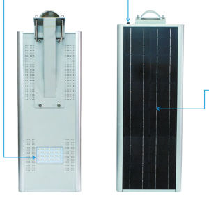 Solar Street Light with Sunpower PV Module pictures & photos