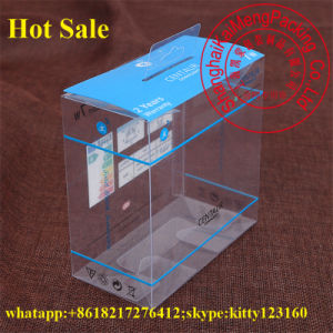 Folable Gift Package Wholesale Plastic Box Large with Printng Logo pictures & photos