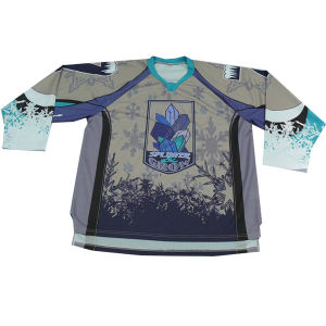 Mens Plus Size Sublimation Custom Designer Ice Hockey Jersey pictures & photos
