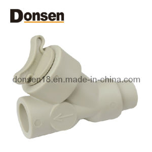PP-R One-Way Valve-Male Plastic Fitting pictures & photos