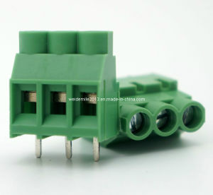 PCB Screw Terminal Block Connector (DG635-6.35mm) CE