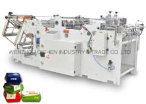 High Speed Take Away Food Box Pasting Machine