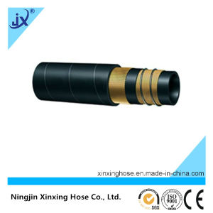 Wire Braid Hydraulic Rubber Hose (SAE 100R4) pictures & photos