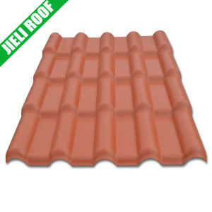 Heat Insulation/Chemical Resistance PVC Roofing Tiles for Residential House pictures & photos