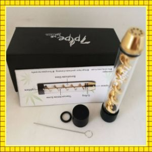 Hot Items Good Taste of Smoking 7 Pipe Twisty Glass Blunt for Sale pictures & photos
