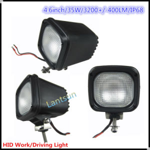 Square 35W HID Driving Light for Truck SUV ATV 4WD pictures & photos