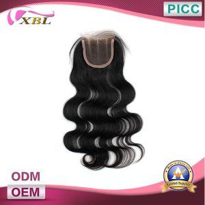 Top Human Hair Three Part Lace Closure pictures & photos