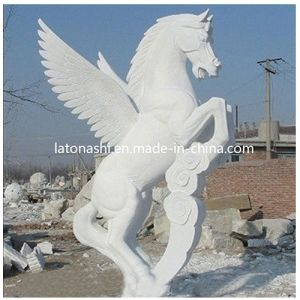 White Unique Animal Horse Art Sculpture for Outdoor, Garden, Yard pictures & photos