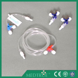 Medical Disposable 3 Way/Three Way Stopcock with Extension Tube (MT58012101) pictures & photos