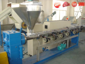 Single Screw Extruder for Recycling Granule pictures & photos