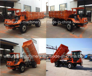 300t 12tons Mining Dump Truck Diesel Engine Driven pictures & photos