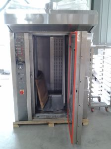 12 Trays Gas Rotary Oven Alb-12q pictures & photos