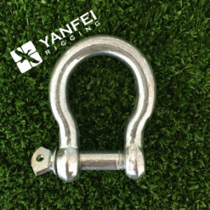 Electrical Galvanized Rigging Hardware European Type Large Bow Shackle pictures & photos