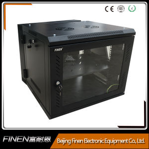 China Factory Wall Mount Double Section 15u Swing Cabinet pictures & photos