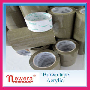Acrylic Adhesive and Single Sided BOPP Brown Packing Tape for Carton Sealing pictures & photos
