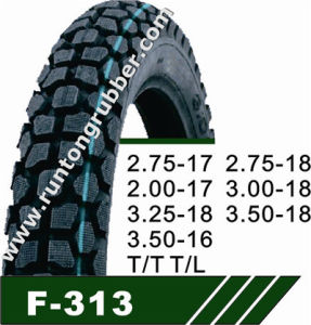 Motorcycle Tire or Motorcycle Tire 3.00-17 3.00-18 2.75-17 2.75-18 pictures & photos