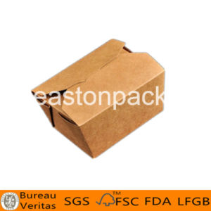 Disposable Kraft Take out Printed Chinese Paper Noodle Boxes pictures & photos
