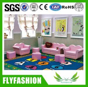 Preschool Children Kids Cute Pink Sofa for Kindergarten (SF-86C) pictures & photos