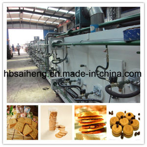 Gas Type Biscuit Chocolate Machine pictures & photos