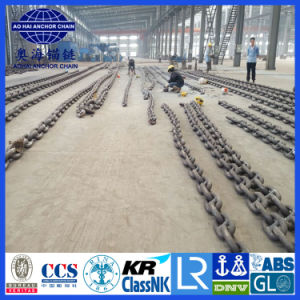 73mm Anchor Stud Link Anchor Chain with CCS, ABS, Lr, Gl, Dnv, Nk, BV, Kr, Rina, RS pictures & photos