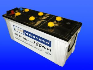 Top Quality Dry Charge Auto Battery with Ce, CQC, ISO, IEC Certificates pictures & photos