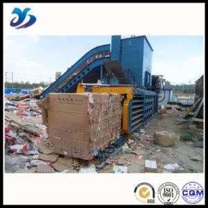 Safe and Reliable Manual Belting Baler pictures & photos
