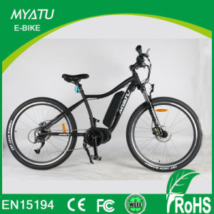 Crusie Bike 26′′sport Mountain Electric Bike with Tire with MID Crank Motor pictures & photos