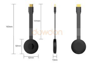 WiFi Display Dongle WiFi Wireless 1080P Mini Display Receiver HDMI TV Miracast Dlna Airplay for Ios/Android/Windows/Mac pictures & photos