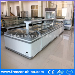 China Best Selling Quick Frozen Island Freezer, Display Chest Freezer pictures & photos