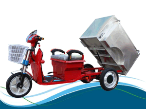 Environment Products 500welectric Tricycle for Collecting Garbage pictures & photos