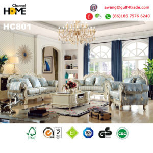 New Wooden Home Furniture Classical Style Bedroom Set (9023) pictures & photos