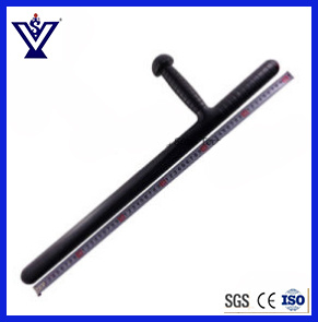 Self Defense Polizeistation Rubber Baton/T-Style Baton/Security Equipment (SYSG-63) pictures & photos