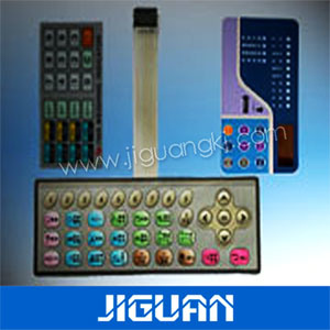 Embossing Button Dome Membrane Keyboard with Circuit pictures & photos