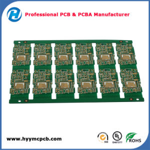 UL Approved Hal Board PCB with Gold Plated pictures & photos