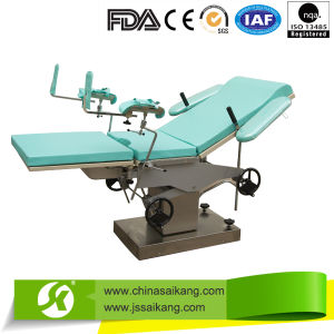 Gynecology Manual Obstetric Delivery Parturition Surgical Examination Table pictures & photos