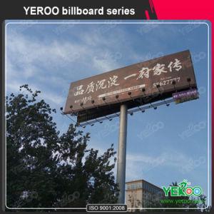 Q235 Steel Advertising Highway Unipole Hoarding Billboard pictures & photos