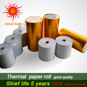 High Quality Thermal Paper 57mm*80mm 80GSM (TP-031) pictures & photos