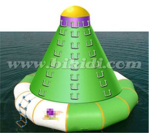 Top Inflatable Water Tower, Inflatable Floating Water Rock Climbing D3045 pictures & photos
