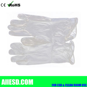 Powder Free Cleanroom Disposable Vinyl Glove pictures & photos