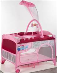 High Quality Portable Baby Crib Baby Cot Baby Bed pictures & photos