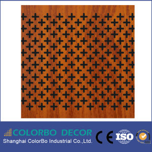 Micro Hole Wooden Veneer Acoustic Panel pictures & photos
