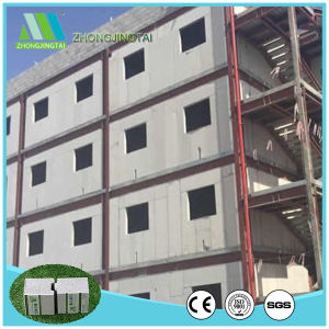 100mm Fireproof EPS Foam Cement Board/Sandwich Panel for Partitional Wall pictures & photos