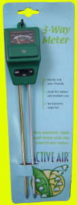 3 In 1 Soil Tester: Mpl-330 With Moisture, Ph & Light  Testing Function pictures & photos