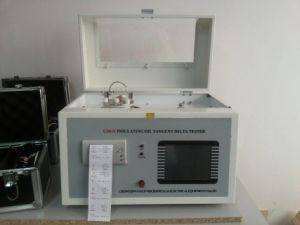Automatic Transformer Oil Tangent Delta Tester (GDGY) pictures & photos