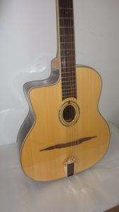 Aiersi Left-Hand Semler Style Acoustic Gypsy Jazz Guitar pictures & photos